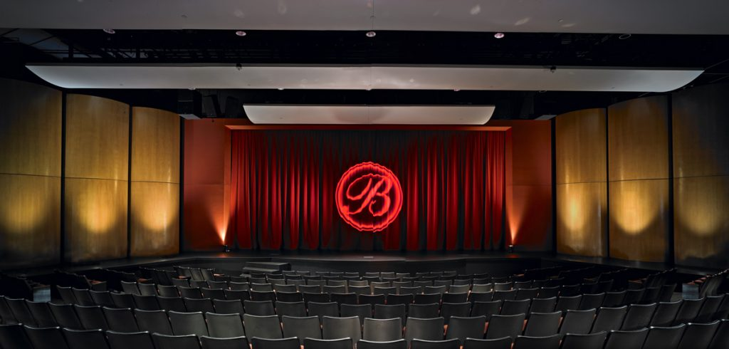 A picture of a theater stage
