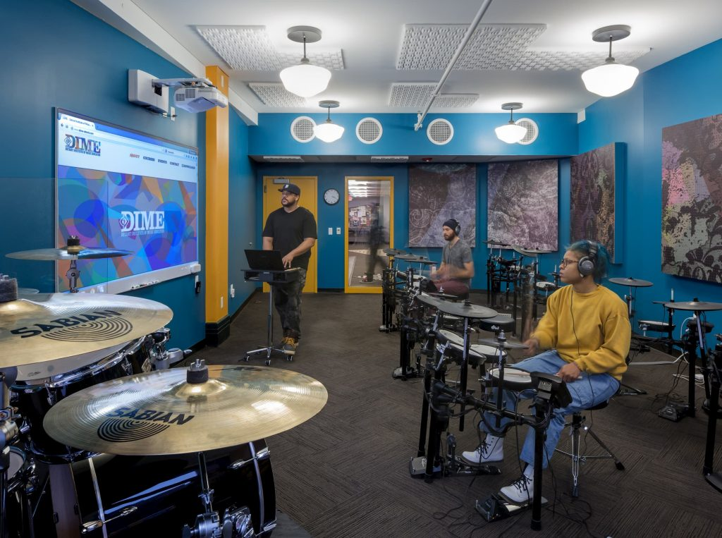 A picture of a studio