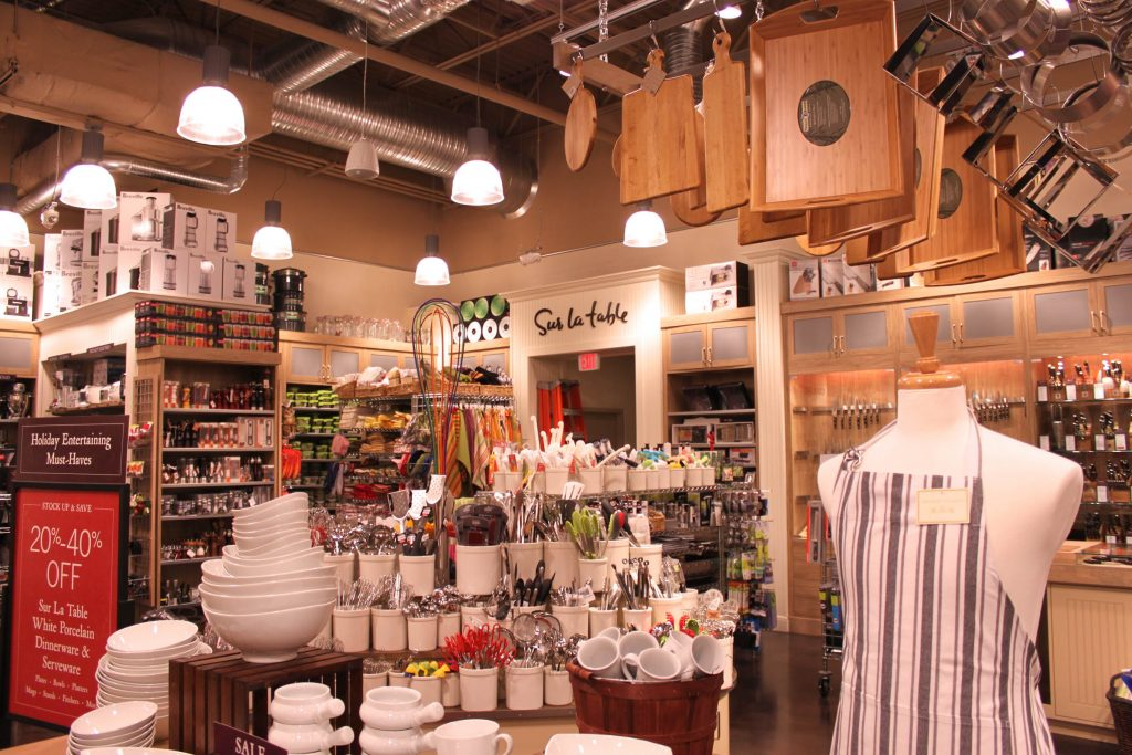 A picture of the inside of a store