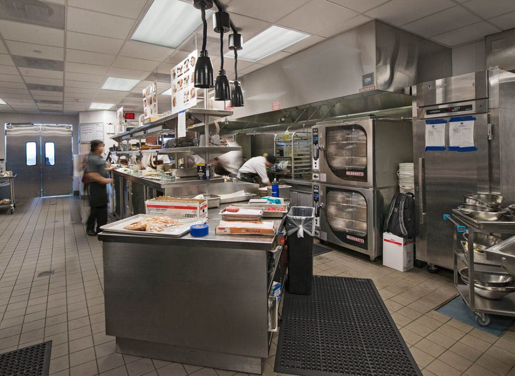 A picture of kitchen equipment